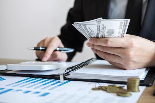 Man reviewing LASIK Financing