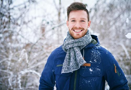 Man smiling after Visian ICL surgery